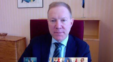 Marko Mihkelson kohtus videosilla vahendusel Türgi asevälisministri Faruk Kaymakçıga