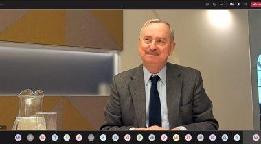 Euroopa Liidu asjade komisjoni esimees Siim Kallas. Foto: ekraanitõmmis