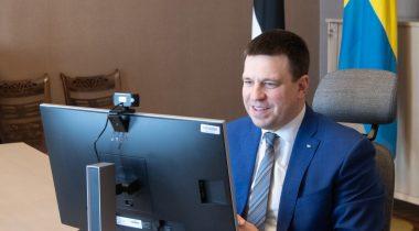 Riigikogu esimees Jüri Ratas rääkis Rootsi ametikaaslasega kahepoolsest koostööst