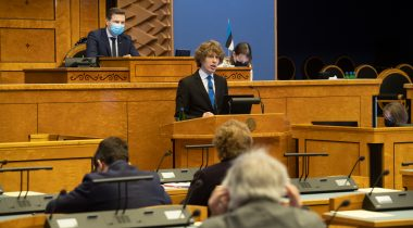 Organisation of vaccination was deliberated as a matter of significant national importance in the Riigikogu. Photo: Erik Peinar
