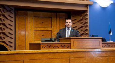 Riigikogu esimees Jüri Ratas