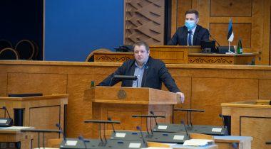 Riigikogu istung, Hanno Pevkur ja Erki Savisaar