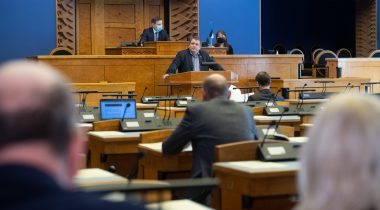 Supplementary budget Bill passed the second reading in the Riigikogu. Photo: Erik Peinar