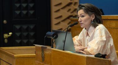 Keskkonnakomisjoni esimees Yoko Alender. Foto: Erik Peinar
