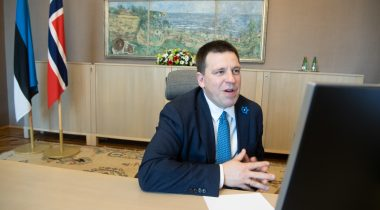 Ratas discussed strengthening of bilateral relations with Norwegian colleague