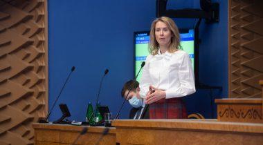 Peaminister Kaja Kallas infotunnis