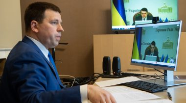 Ratas expressed support to his Ukrainian colleague and people of Ukraine