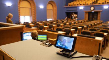 Riigikogus peab kaugosalusega istungit