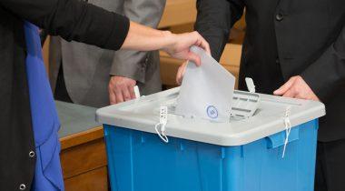 Hääletuskast Vabariigi Presidendi valimisel 2016. aastal