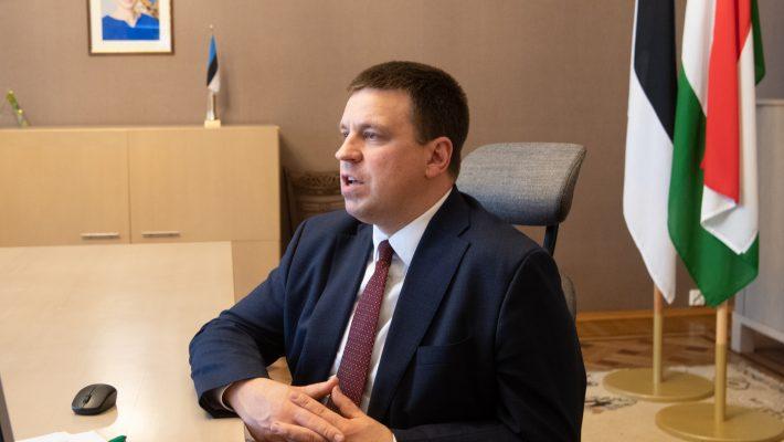 Riigikogu esimees Jüri Ratas kohtus täna videosilla vahendusel Ungari parlamendi esimehe László Kövériga