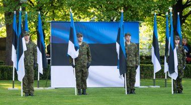 Eesti lipu päeva tähistamine