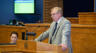 Kaitseminister Kalle Laanet. Foto: Erik Peinar