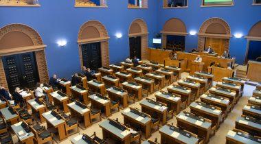 Riigikogu täiskogu istung. Foto: Erik Peinar, Riigikogu Kantselei