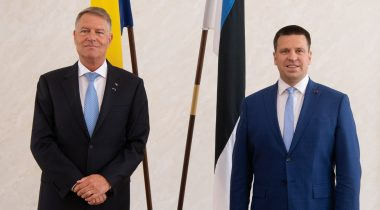 Jüri Ratas discussed strengthening of European unity with President of Romania