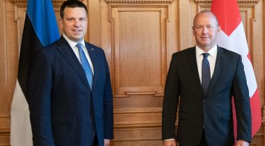 Jüri Ratas discussed strengthening of bilateral relations with his Swiss counterpart