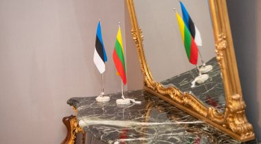 Leedu ja Eesti lipp