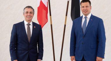 Riigikogu esimees kõneles Šveitsi välisministriga digiteenuste ja turismi arendamisest