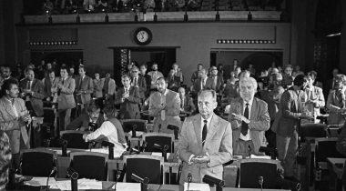 Ülemnõukogu istung 20.08.1991.Tiit Veermäe foto.