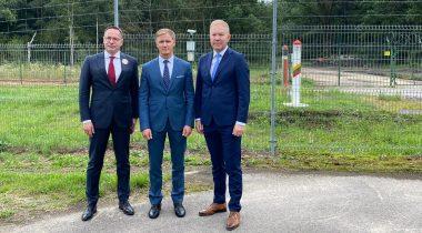 Rihards Kols, Žygimantas Pavilionis ja Marko Mihkelson