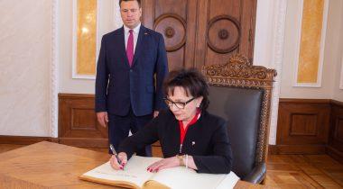 Riigikogu esimees Jüri Ratas kohtus täna Poola Seimi marssal Elżbieta Witekiga