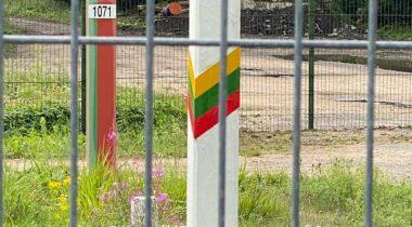 Leedu-Valgevene piir. Foto: Marko Mihkelson