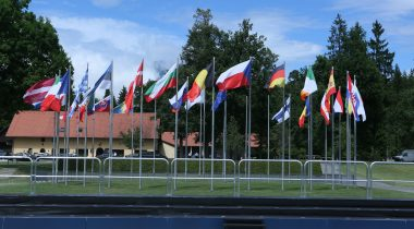 EL liikmesriikide lipud Foto: Matej Grah