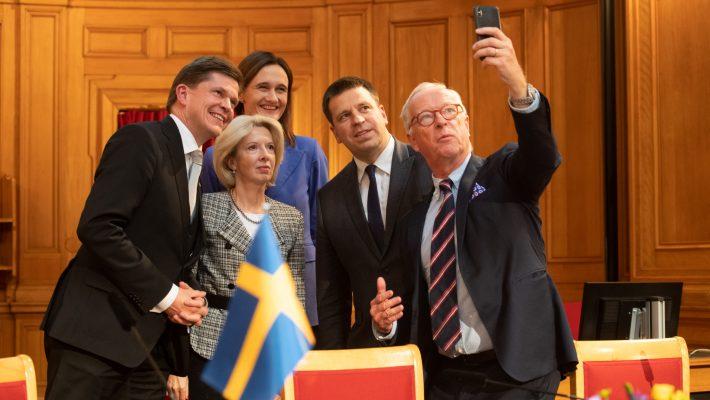 Ajalooseminar avanud Rootsi parlamendis