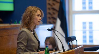 Peaminister Kaja Kallas tegi poliitilise avalduse seoses järgmise aasta riigieelarvega