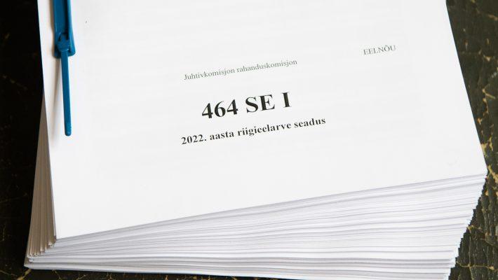 2022. aasta riigieelarve