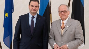 Riigikaitsekomisjoni esimees Enn Eesmaa kohtub Gruusia asevälisministri hr Teimuraz Janjalia´ga