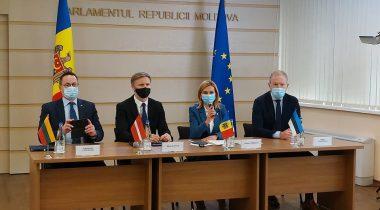 Balti parlamentide väliskomisjonide esimehed Moldovas