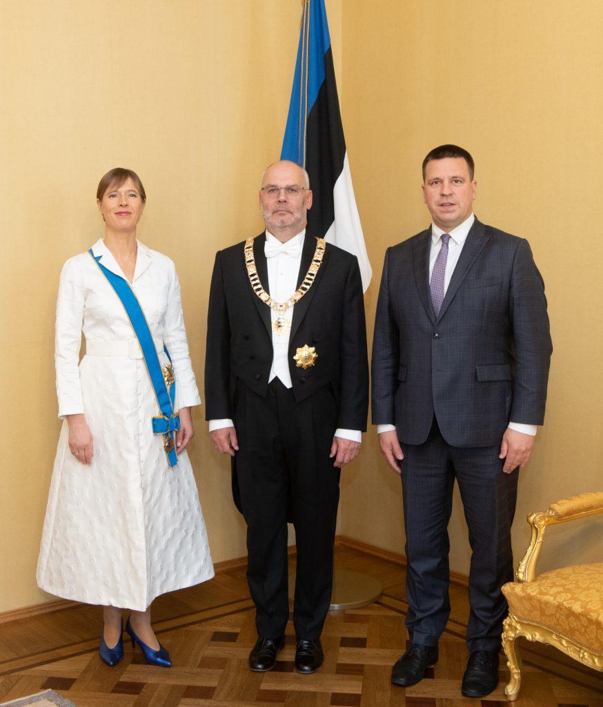 Kersti Kaljulaid, Alar Karis, Jüri Ratas